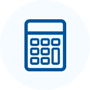 Home estimate calculator icon