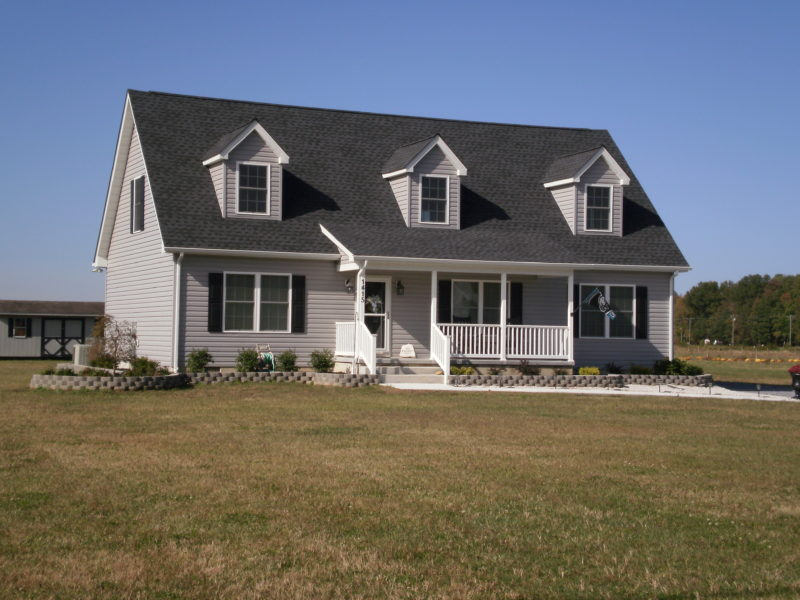 Well-constructed, two-story traditional home designed and built by H&H Builders, Inc.