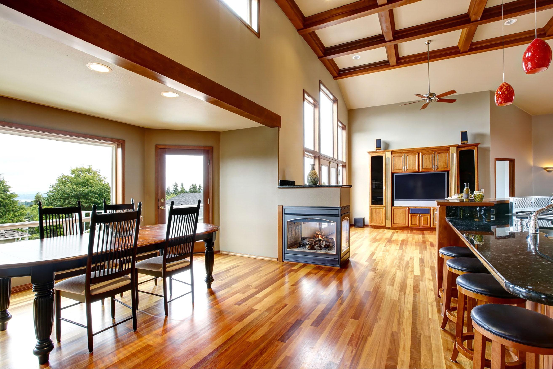 Open Floor Plans Make Custom-Built